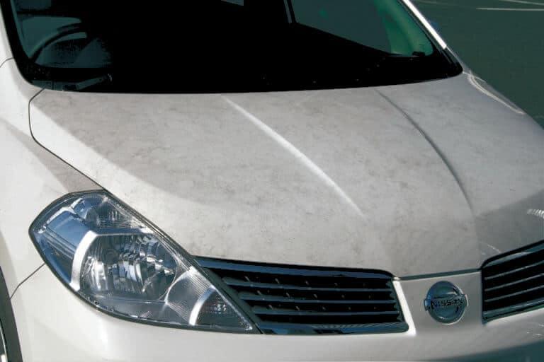 Загрязнения автомобиля