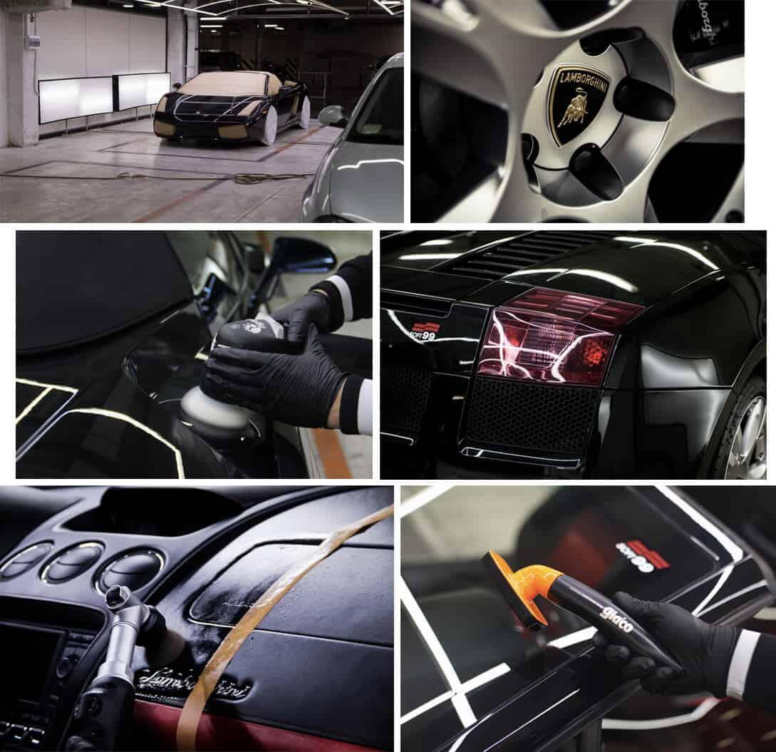 Детейлинг Lamborghini Gallardo