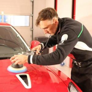 Полировка Nissan GT-R
