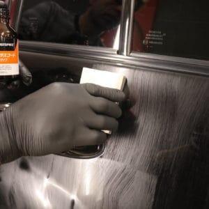 Нанесение защитного покрытия