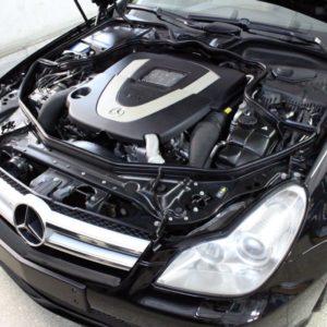 Детейлинг мотора Mercedes