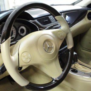 Детейлинг салона Mercedes