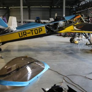 Полировка самолёта
