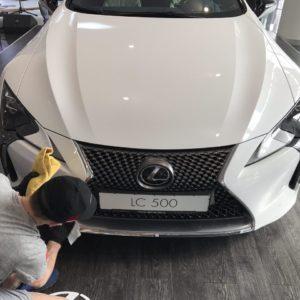 Подготовка Lexus LC500