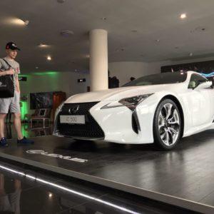 Презентация Lexus LC500