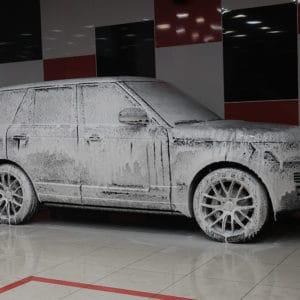 Детейлинг мойка Range Rover