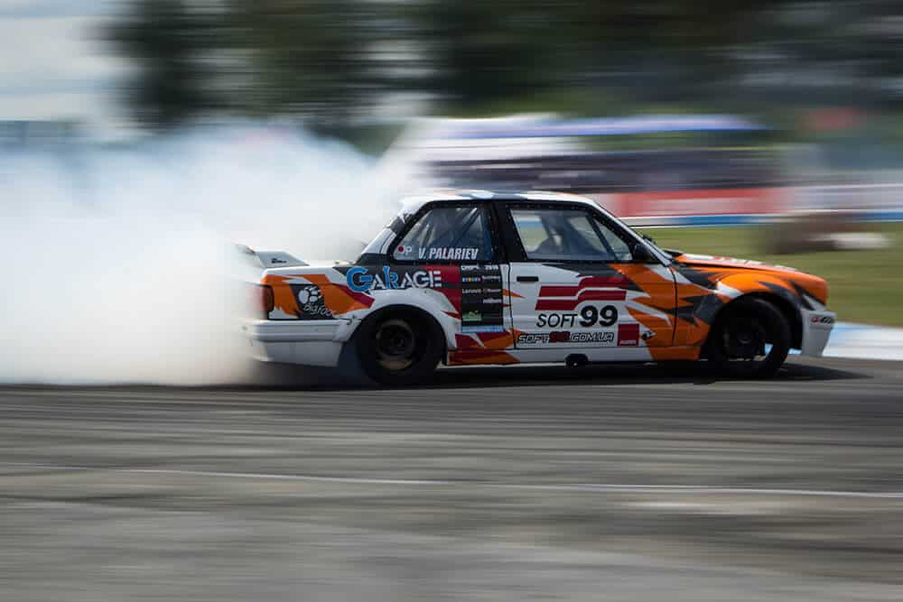 Владимир Палариев на BMW E30