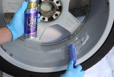 Очистка колесных дисков