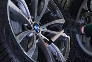очистка колесного диска