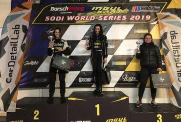 Девчонки выиграли гонки CarDetailLab