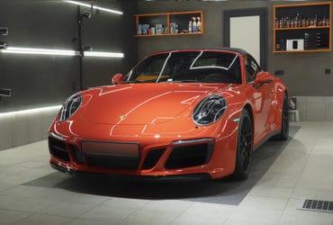 Porsche Carrera детейлинг-студия