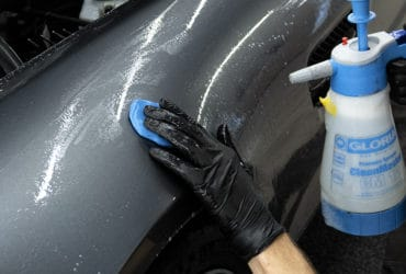 очистка кузова глиной