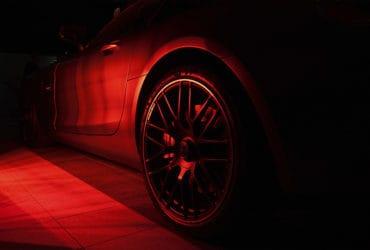 красное колесо мерса