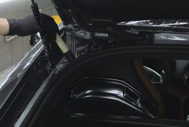 Мытье багажника GTs