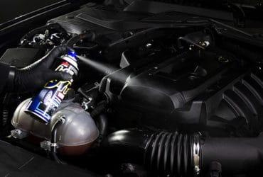 Чернение мотора