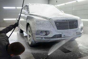 чистка низов авто