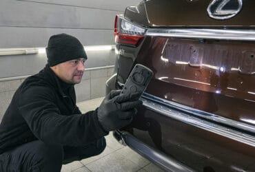 инспекция автомобиля