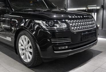 Range Rover после детейлинга