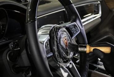 удаление скрипа в руле
