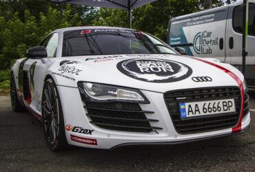 Audi на соревнованиях в Киеве