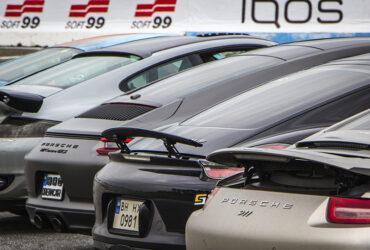 Автомобили марки Porsche на гонках RTR