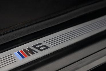 результат полировки молдинга BMW M6