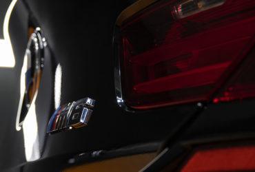 фара и значок BMW