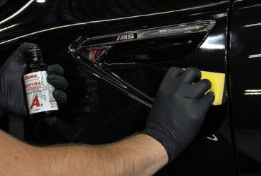 нанесение защиты на труднодоступные места кузова авто
