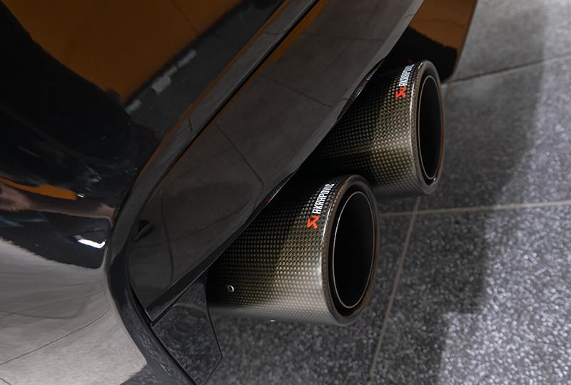 трубы глушителя BMW M6