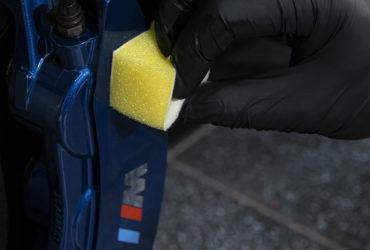 защита суппортов на BMW