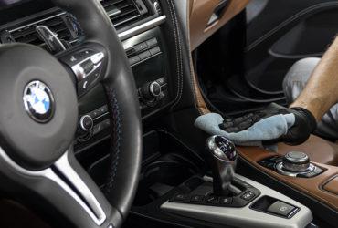 химчистка салона BMW
