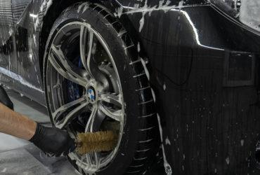 чистка колесных дисков BMW
