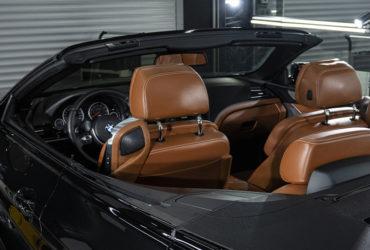сидения в BMW после химчистки