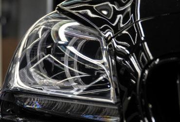 отполированные фары BMW M6