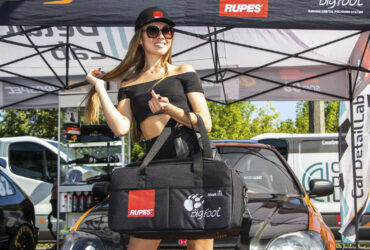 демонстрация сумки для полировального оборудования Rupes BigFoot