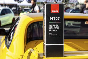 демонстрация шампуня для авто Rupes M707