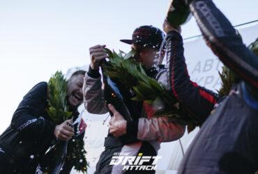 торжественная часть награждения гонщиков