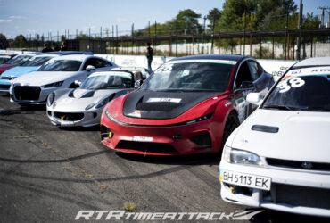 выставка гоночных автомобилей TimeAttack