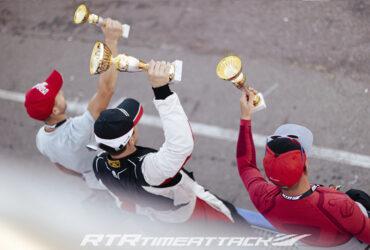 победители автофестиваля с кубками