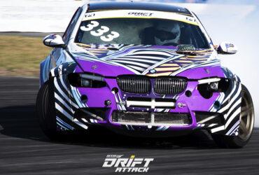 фиолетовая BMW