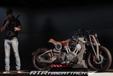 тюнингованый мотоцикл