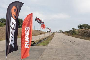 флаги RUPES и SOFT99 на гонках