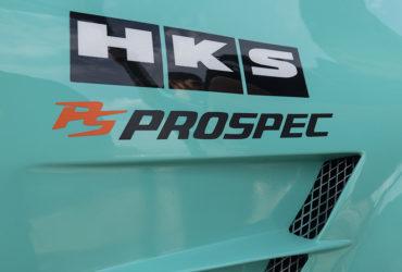 автомобиль с наклейкой Prospec