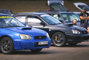 выставка автомобилей в Одессе на трассе 6-й километр