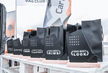 кубки для участников VAG-феста