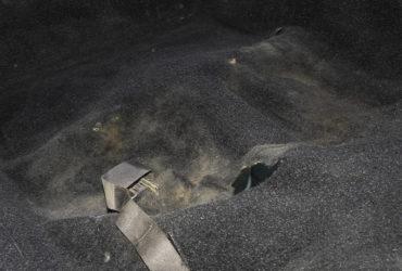 багажник автомобиля перед химчисткой