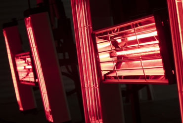 запекание кварца под ИК-лампами