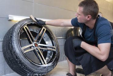 чистка автомобильных шин
