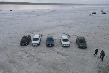 фестиваль автомобилей VAG на лимане под Одессой