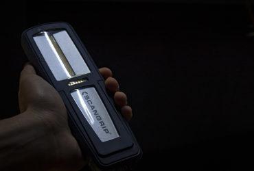 индикатор заряда батареи на фонаре Scangrip